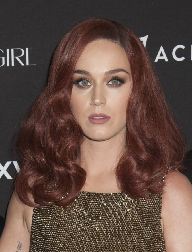 Katy Perry : beaut� fatale avec sa nouvelle couleur de cheveux !