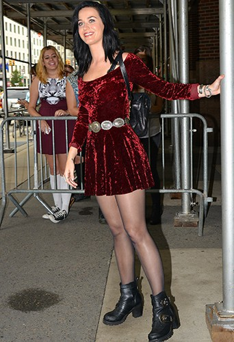 Katy Perry à New-York le 12 août 2013