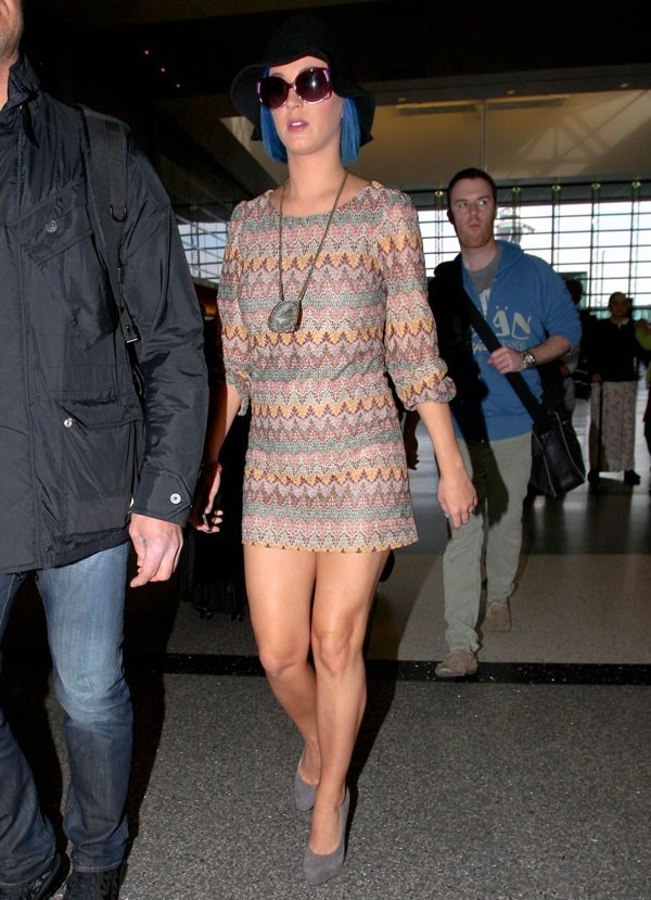 Katy Perry en partance pour Singapour !