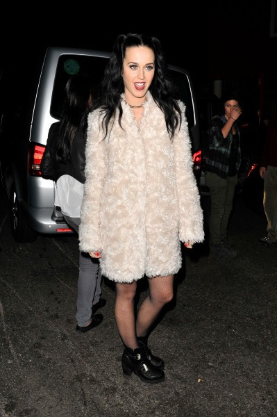 Katy Perry à Londres, le 30 septembre 2013.