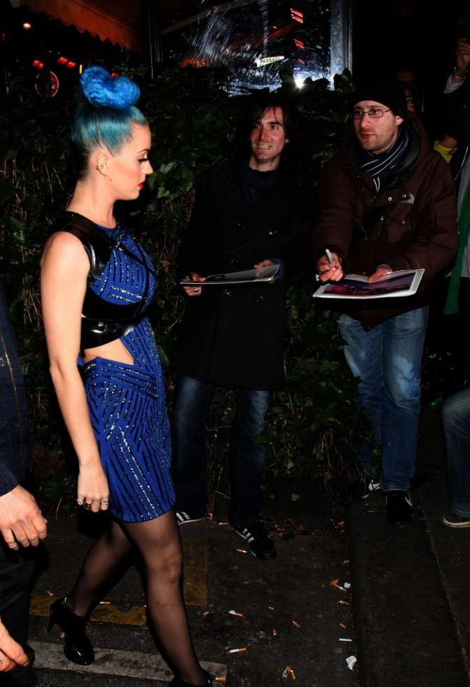 Katy Perry à Paris, le 20 mars 2012.