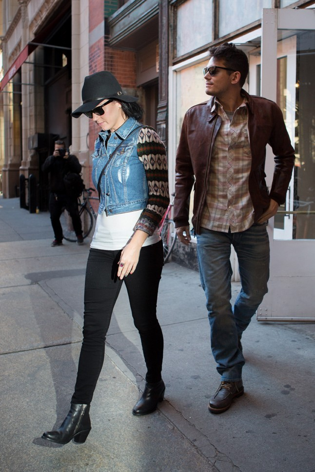 Katy Perry et John Mayer à New-York le 16 octobre 2012