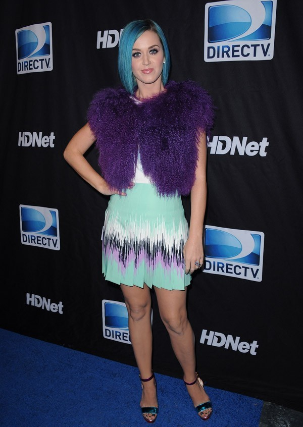 Katy Perry à la DIRECTV's Sixth Annual Celebrity Beach Bowl After Party !