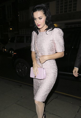 Katy Perry à Londres le 19 octobre 2013