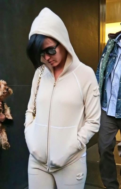 Katy Perry le 17 octobre 2012 à New York