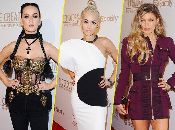 Katy Perry, Rita Ora et Fergie exlues des Grammy Awards, elles profitent de la before !