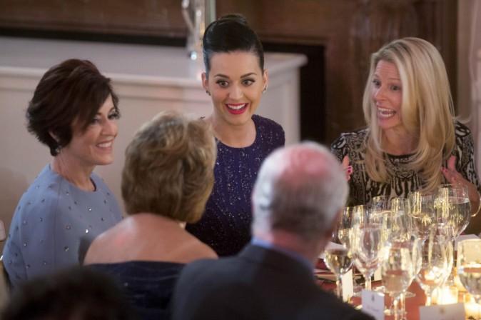 Photos : Katy Perry : sublime pour chanter à la Maison Blanche devant un Barack Obama totalement conquis !