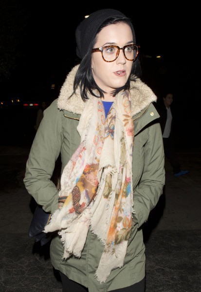 Katy Perry à Beverly Hills, le 27 décembre 2012.