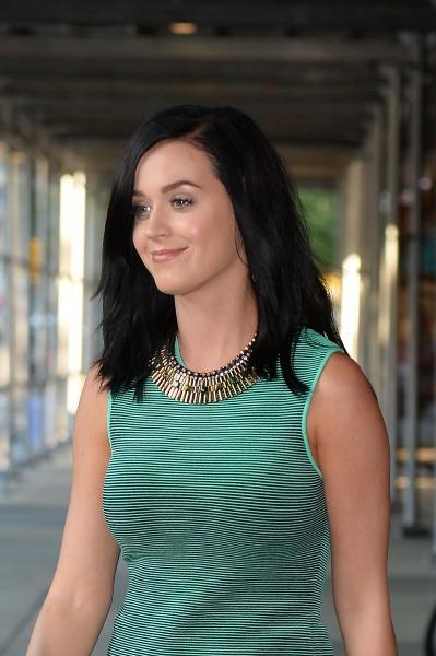 Katy Perry en promo à New York, le 27 août 2013.