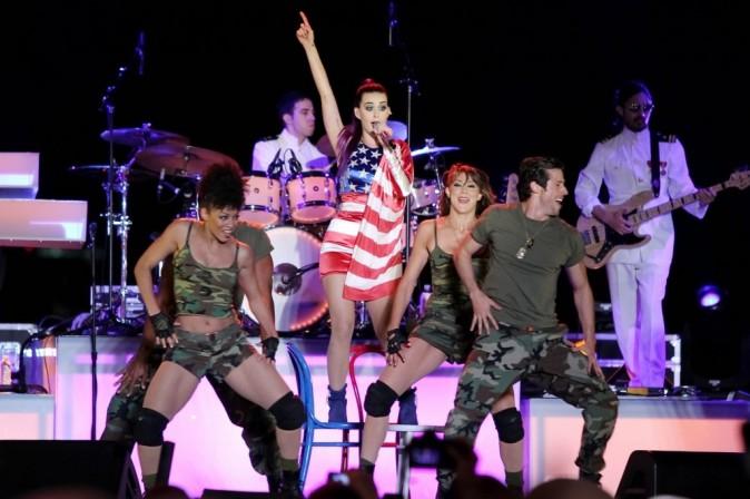 Un show très patriotique !