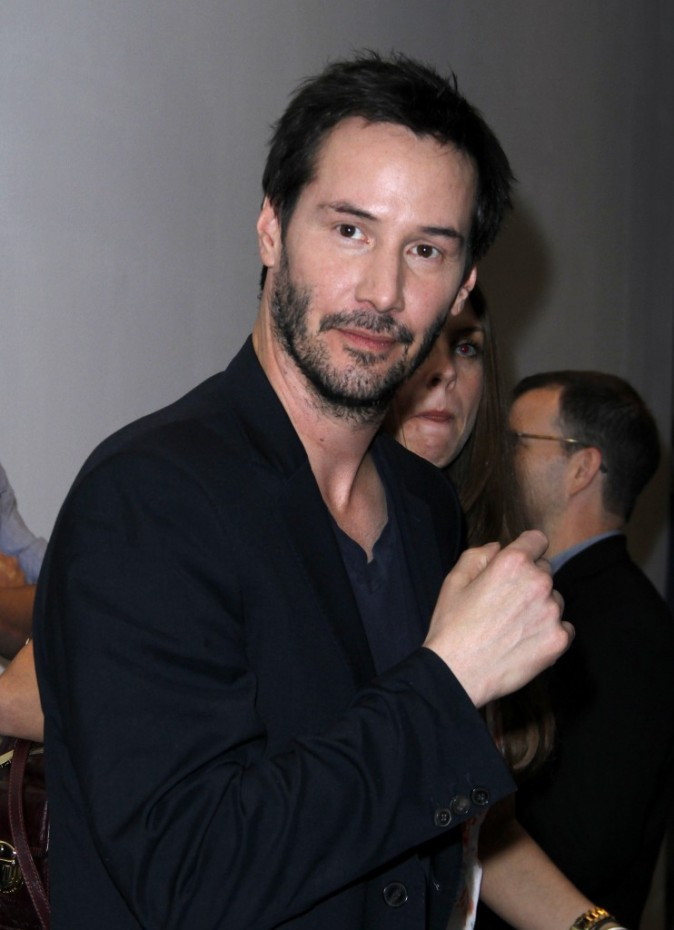 Keanu Reeves, New York, 9 août 2012.