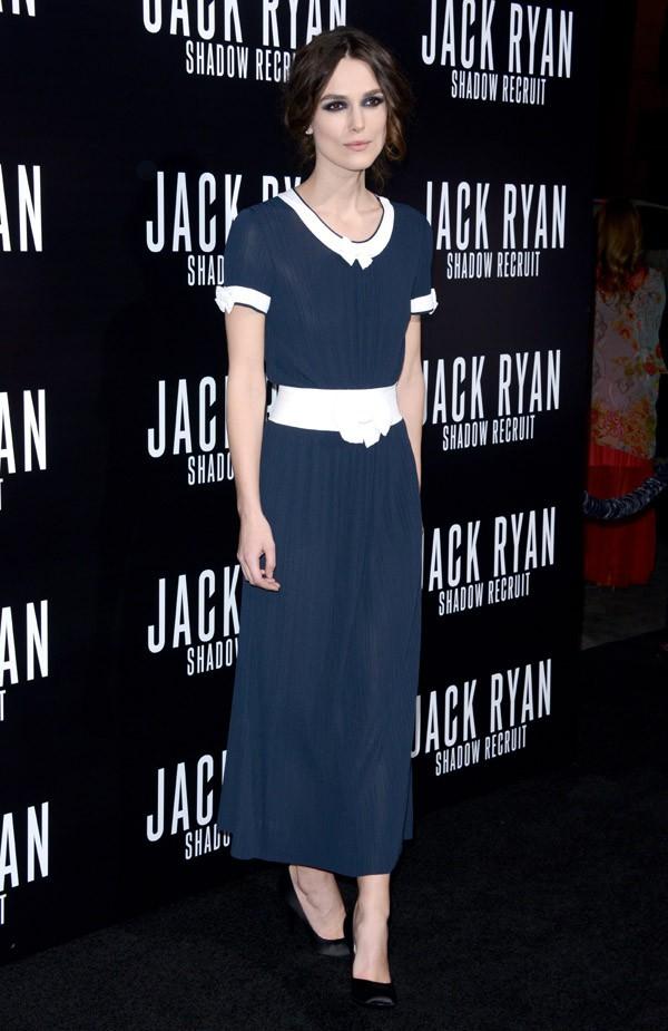 Keira Knightley à l'avant-première hollywoodienne de The Ryan Initiative le 15 janvier 2014