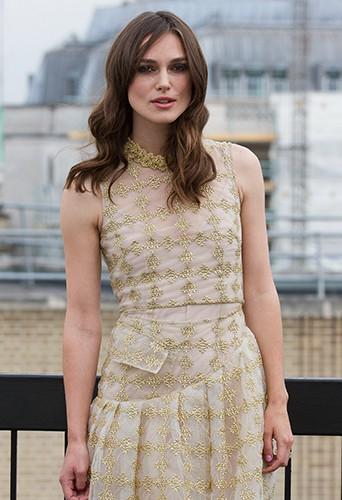 Keira Knightley à Londres le 2 juillet 2014
