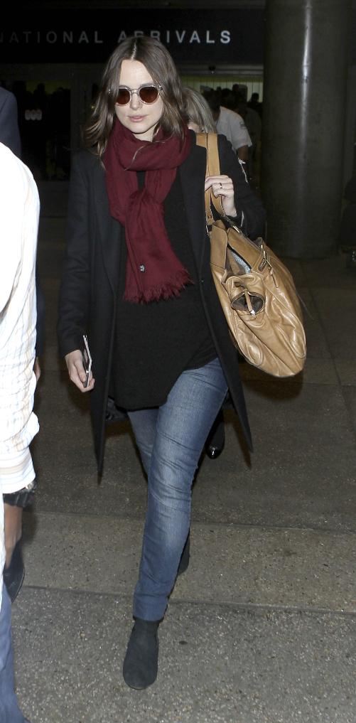Keira Knightley à Los Angeles le 8 janvier 2015