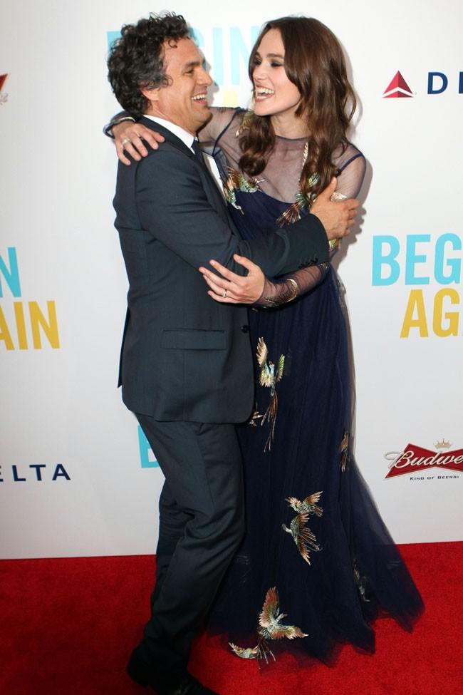 Keira Knightley l'avant-première de Begin Again organisée à New-York le 25 juin 2014