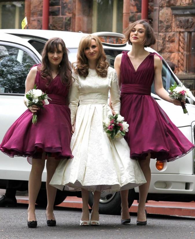 Keira sera peut-être un jour la mariée ?