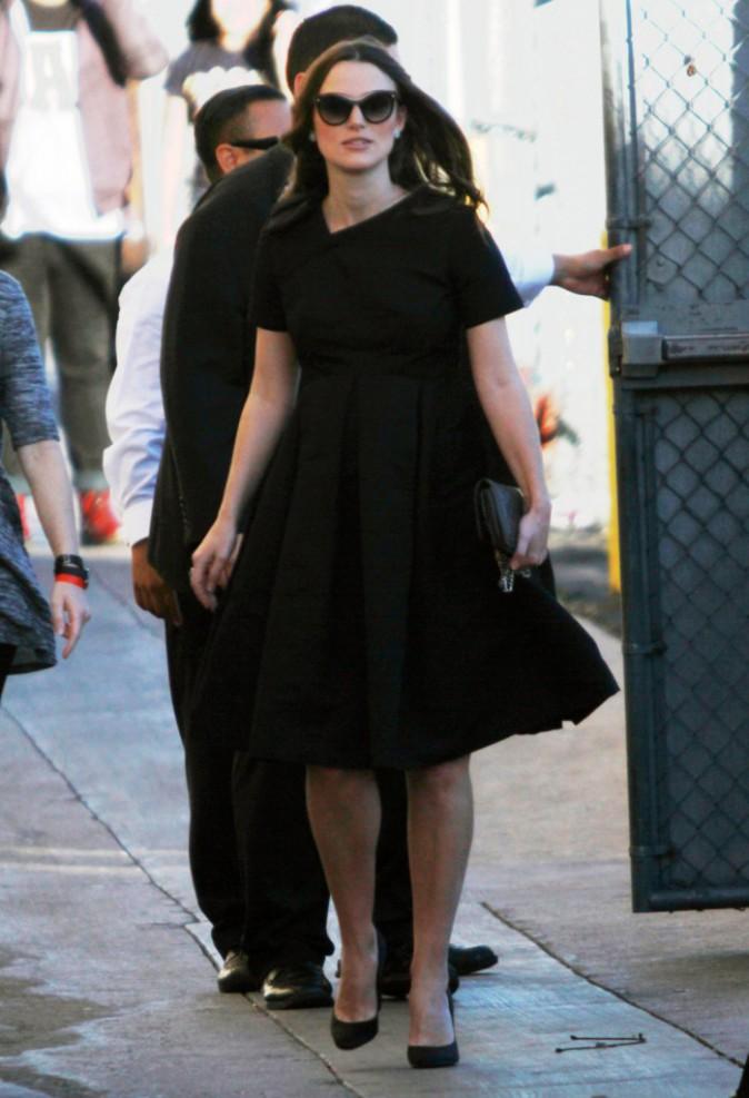 Keira Knightley le 12 février 2015
