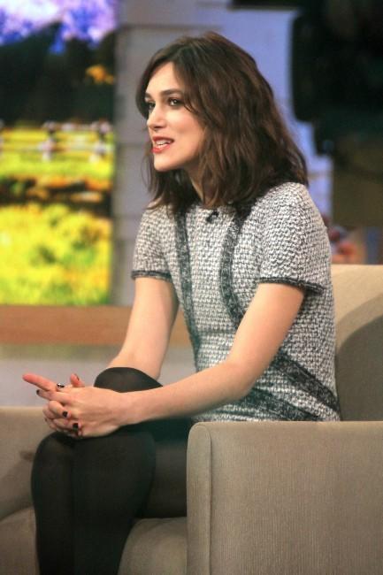 Keira Knightley le 8 novembre 2012 à New York