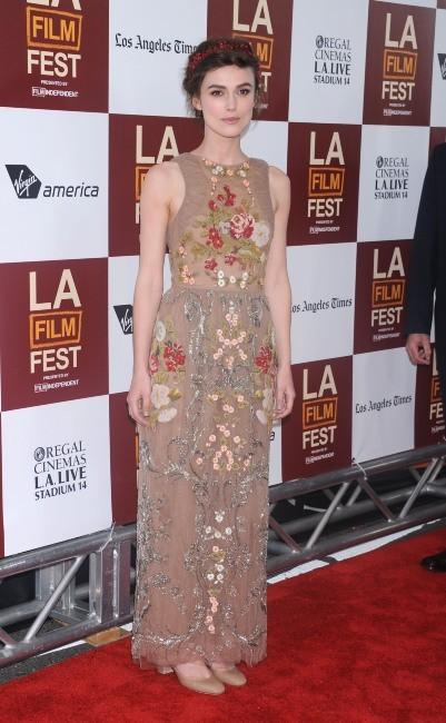 """Keira Knightley lors de la première du film """"Jusqu'à ce que la fin du monde nous sépare"""" à Los Angeles, le 18 juin 2012."""