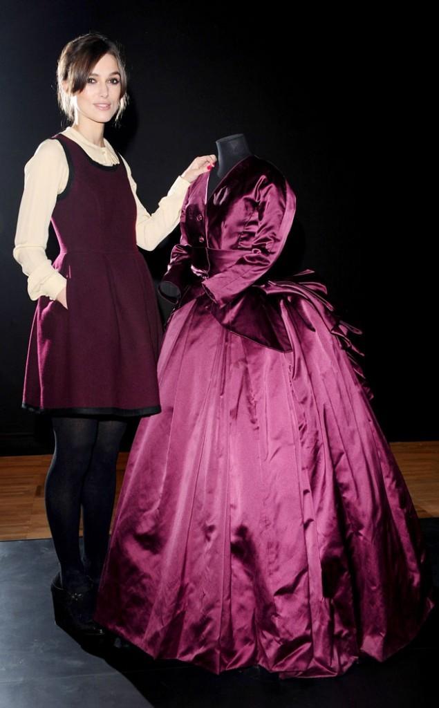 Keira Knightley le 9 octobre 2012 à Londres