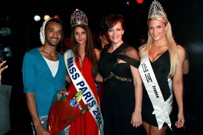 Miss Paris a de la chance d'être aussi bien entourée !