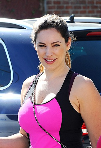 Kelly Brook à Los Angeles le 14 février 2014