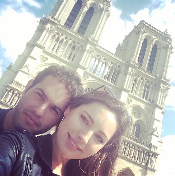 Photos : Kelly Brook complètement folle d'un Frenchie !