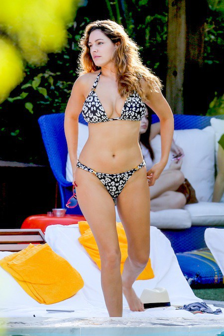 Kelly Brook le 2 février 2014