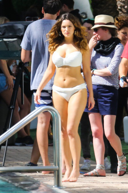 Kelly Brook le 4 février 2014