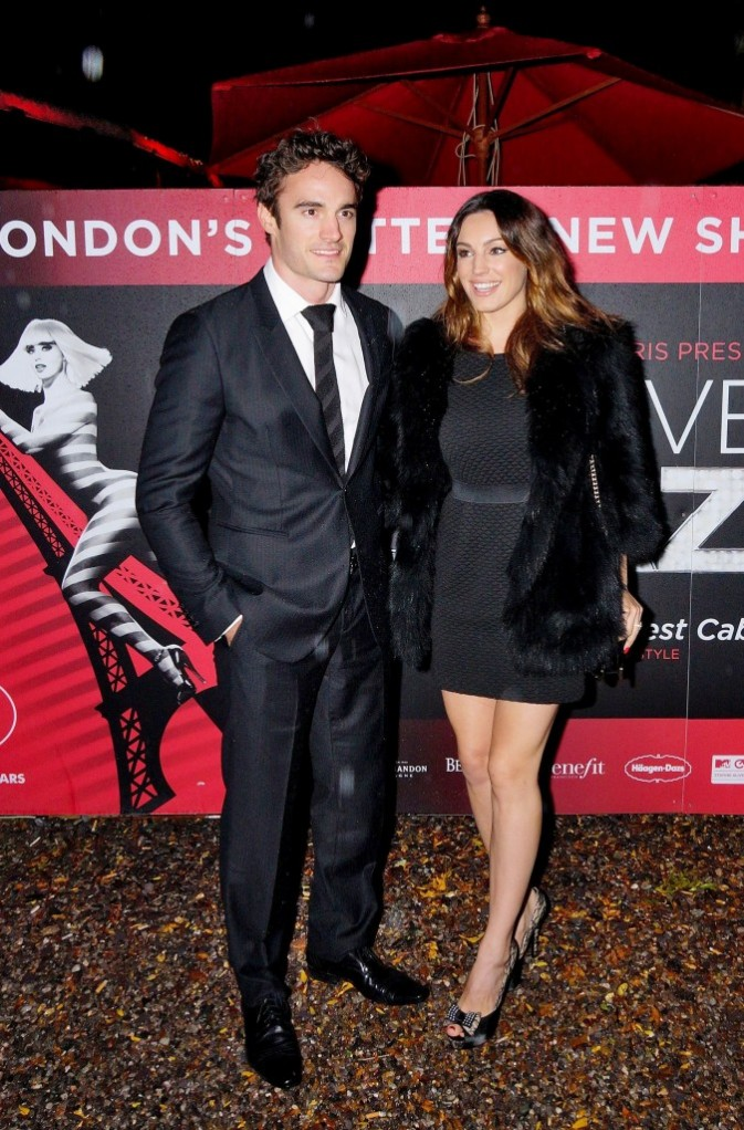 Kelly Brook et Thom Evans, Londres, 5 octobre 2012.