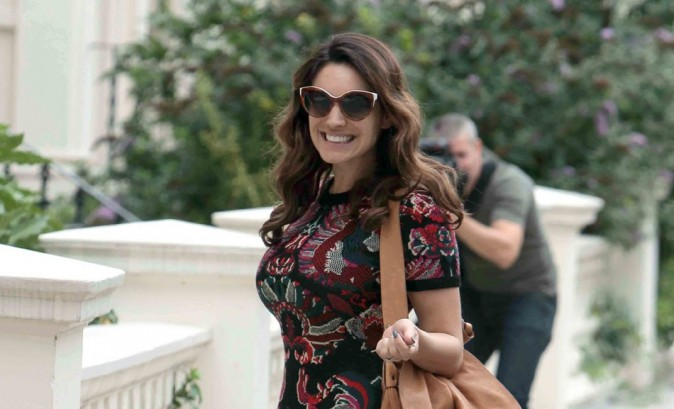 Kelly Brook le 21 août 2012 à Londres