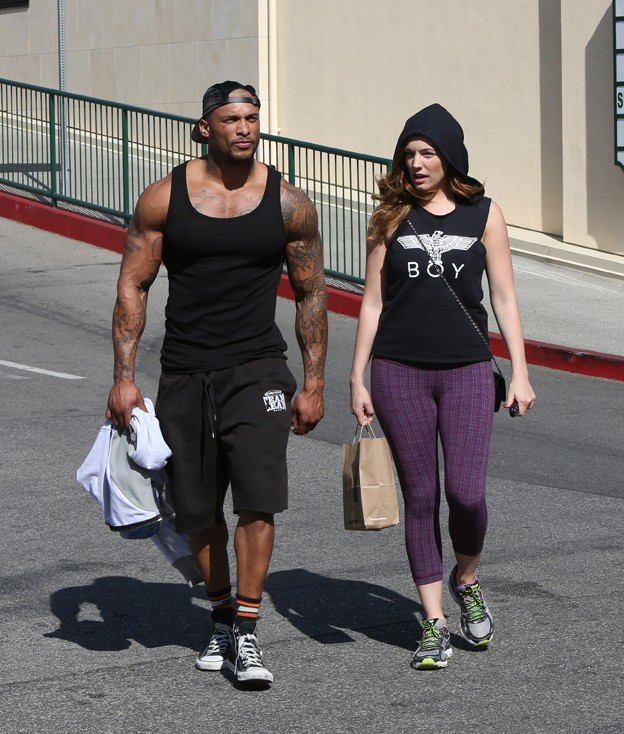 Kelly Brook et David Mcintosh à Los Angeles le 13 février 2014