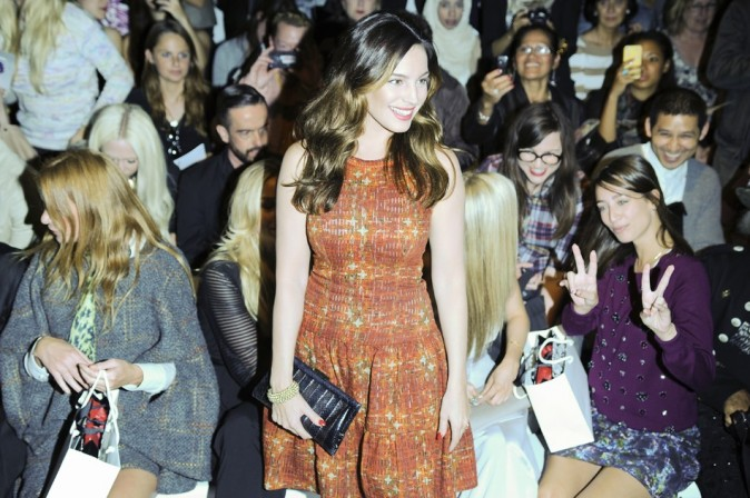 Kelly Brook le 14 septembre 2012 à Londres