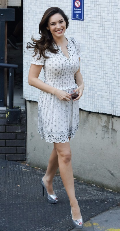 Kelly Brook, Londres, 7 mai 2013.