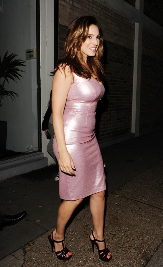 Kelly Brook à Londres le 29 août 2012