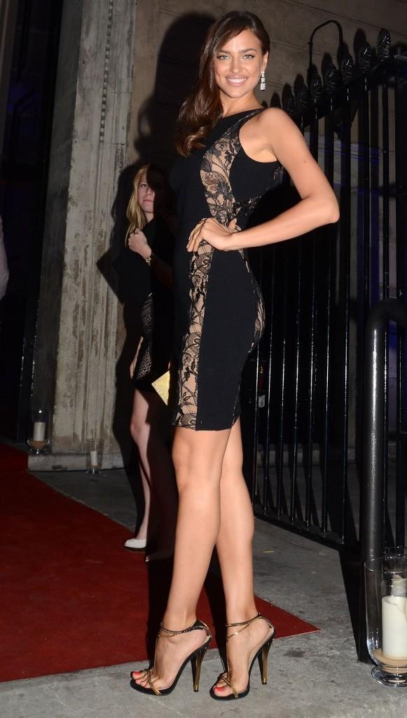 Irina Shayk le 12 août 2012 à Londres