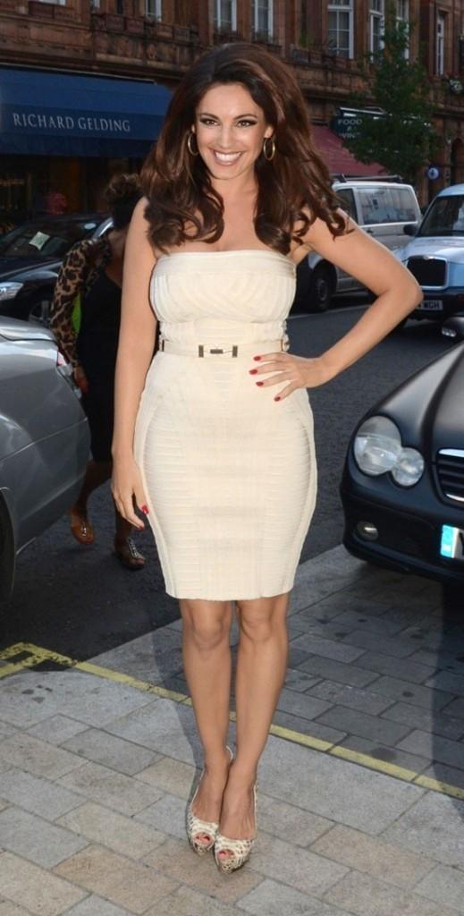 Kelly Brook le 12 août 2012 à Londres
