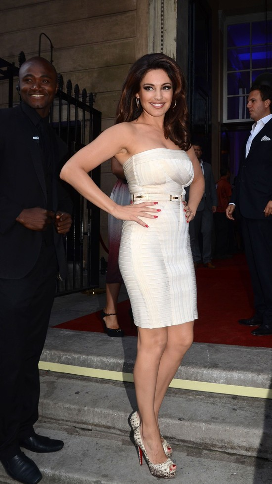 Kelly Brook le 12 août 2012 à Londres