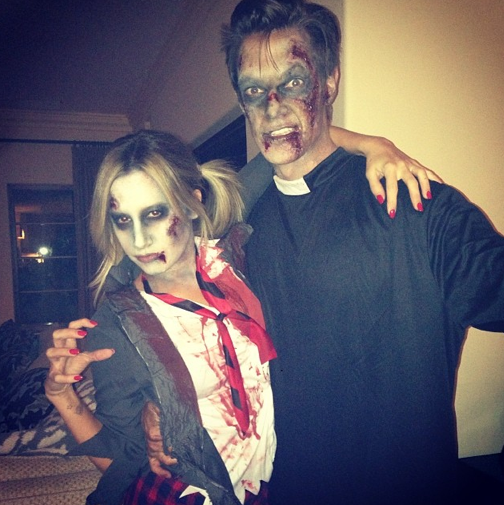 Ashley Tisdale et son fiancé Christopher French