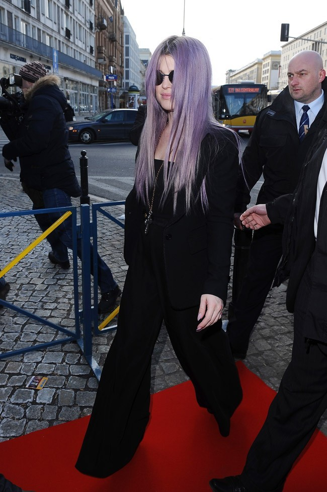 Kelly Osbourne à Warsaw, en Pologne, le 26 mars 2013