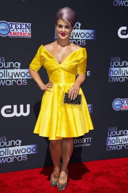 Kelly Osbourne lors de la soirée des Young Hollywood Awards à Los Angeles, le 1er août 2013.