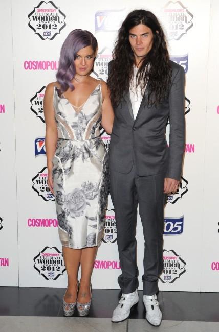 Kelly Osbourne et Matthew Mosshart le 30 octobre 2012 à Londres