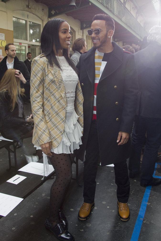 Kelly Rowland et Lewis Hamilton, des stars stylées