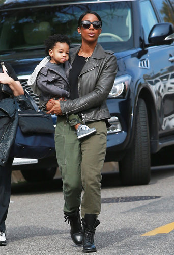 Kelly Rowland et Titan, toujours aussi complices !