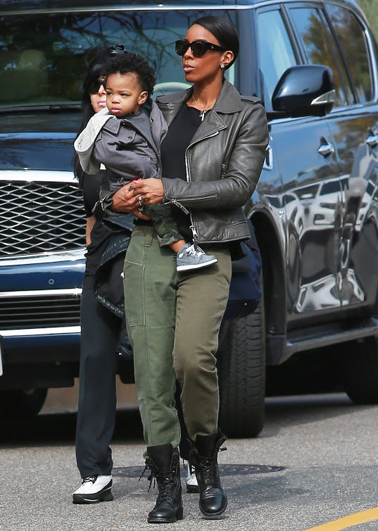 Kelly Rowland, très proche de son enfant Titan