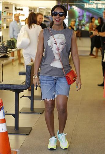 Kelly Rowland à Los Angeles le 25 juillet 2014