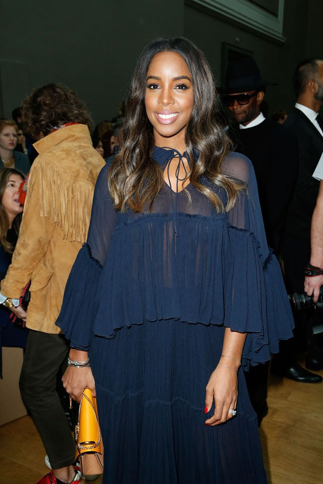 Kelly Rowland à la Fashion Week de Paris