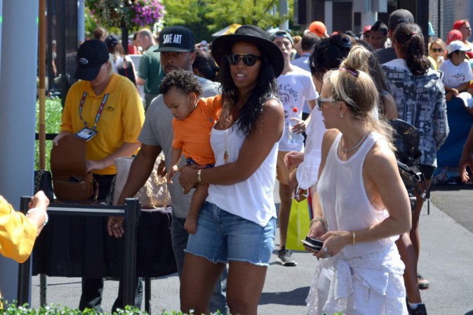 Kelly Rowland : Le tennis c'est une affaire de famille pour elle !