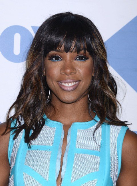 "Kelly Rowland lors de la soirée ""Fox Summer TCA All Star Party"" à Los Angeles, le 1er août 2013."