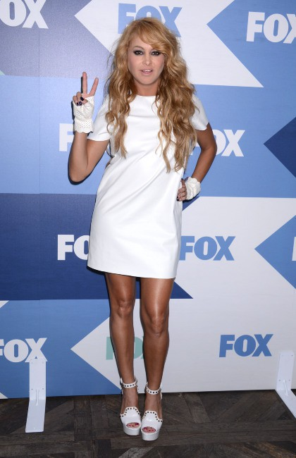 "Paulina Rubio lors de la soirée ""Fox Summer TCA All Star Party"" à Los Angeles, le 1er août 2013."